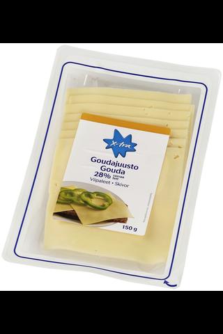Xtra 150g Gouda juustoviipaleet 28%