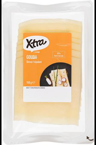 Xtra 150g Gouda juustoviipaleet 16%