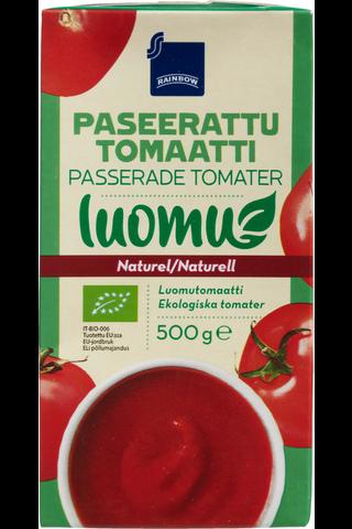 Rainbow Luomu paseerattu tomaatti 500 g