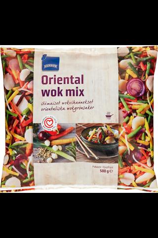 Rainbow Oriental wok mix 500 g