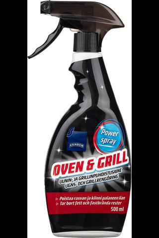 Rainbow 500 ml uunin- ja grillinpuhdistusaine