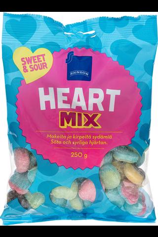 Rainbow Heart mix 250 g