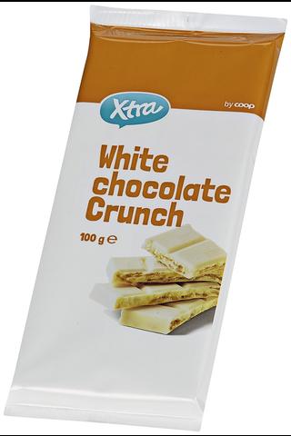 X-tra White chocolate crunch 100 g