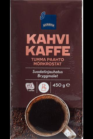 Kahvi tumma paahto 450 g suodatinjauhatus