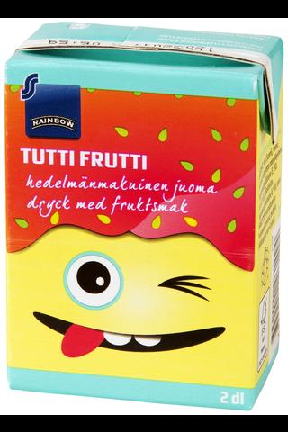 Rainbow 2dl Tutti Frutti hedelmänmakuinen juoma