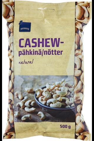 Rainbow Cashew-pähkinä natural 500 g