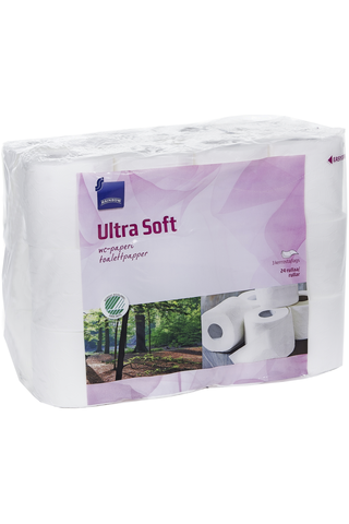 Toilet paper 3-ply (Ultra Soft) 24.00 piece