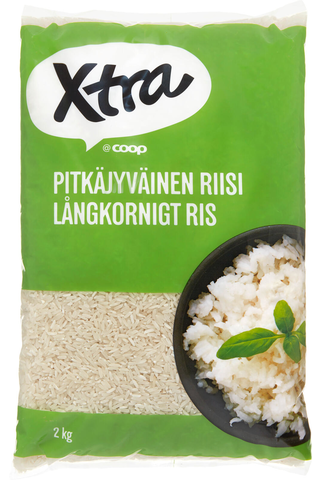 Xtra Long grain rice, 2 kg 2 KGM