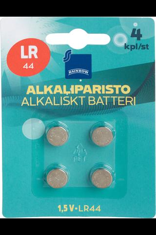 Rainbow LR44 coin battery, 4-pack 4 H87