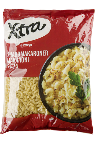 Quick Cook Macaroni (50% durum - 50% soft) 1000.00 gram