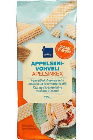 Wafer with orange taste 325.00 gram