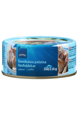 Tuna MSC Skipjack Chunks in brine 160.00 gram