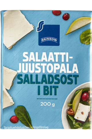 Rainbow Saladcheese block, 200g tetra RB 200 GRM