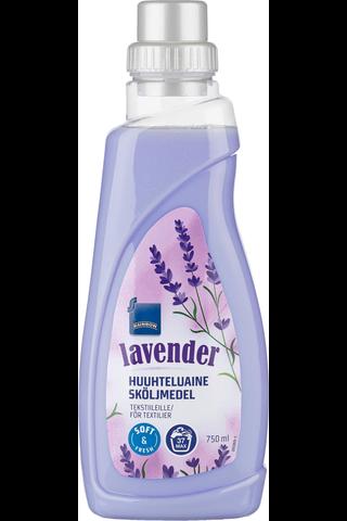 tekstiilien huuhteluaine lavender 750ml