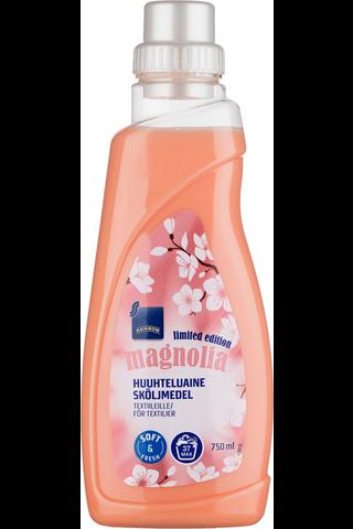 Rainbow 750 ml Magnolia tekstiilien huuhteluaine
