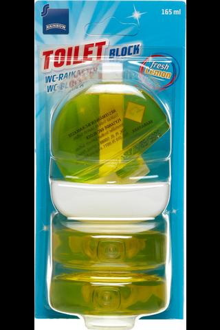 Rainbow WC raikastin Lemon 3x55 ml