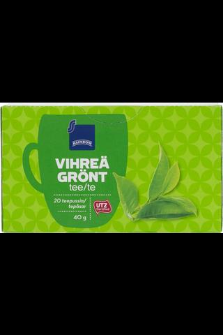 Vihreä tee.