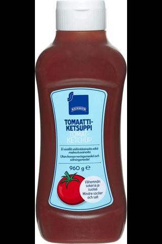 Rainbow Tomato Ketchup, reduced salt and sugar 960 GRM