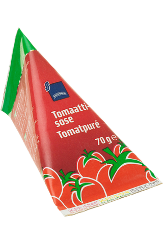 Rainbow Tomato paste 28/30 brix 70 GRM