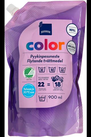 Rainbow 900ml Color pyykinpesuneste värillisille tekstiileille