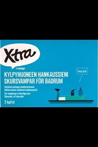 Xtra kylpyhuoneen hankaussieni 2kpl