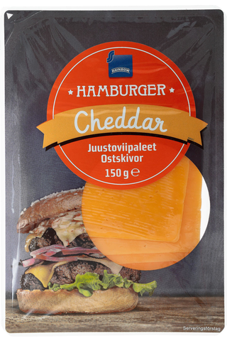 Rainbow 150g Cheddar juustoviipaleet 35%