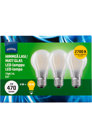 Rainbow LED Standard E27, A60, 470LM, 2700K (Frosted) 3 H87