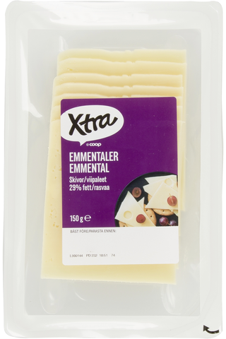 Xtra 150g Emmental juustoviipaleet
