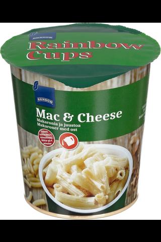 Rainbow 70g Mac & Cheese kuppi