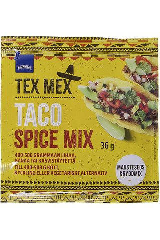 Rainbow 36g Tex Mex taco mausteseos