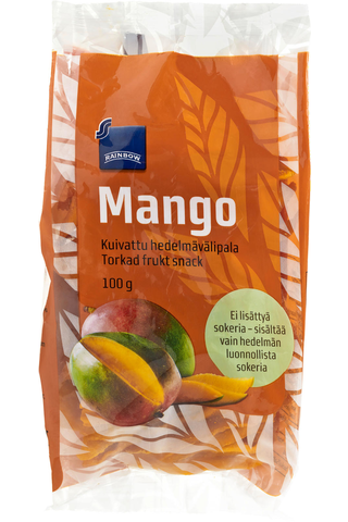 Rainbow 100g kuivattu mango