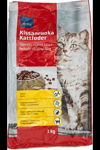 Rainbow 1kg kanaa sisältävä kissanruoka