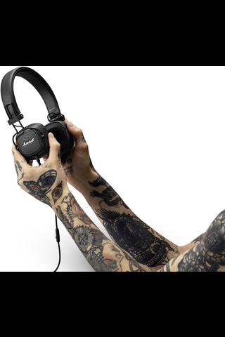 Marshall Major III kuulokkeet musta