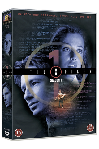 Dvd X-Files 1 Kausi
