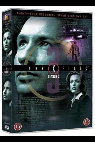 Dvd X-Files 3 Kausi