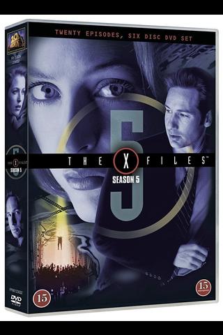 Dvd X-Files 5 Kausi
