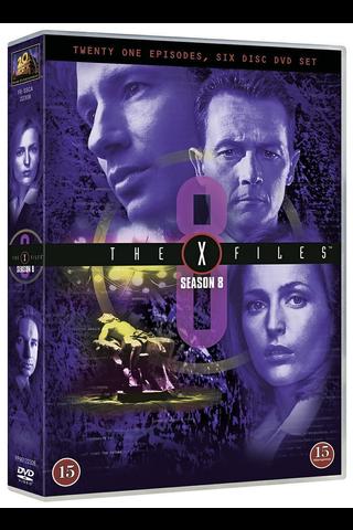 Dvd X-Files 8 Kausi