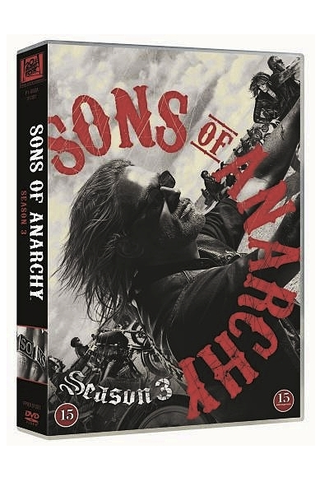Dvd Sons Of Anarchy 3 Ka