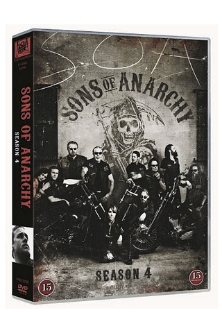 Dvd Sons Of Anarchy 4 Ka