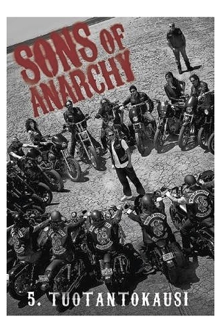 Dvd Sons Of Anarchy 5K