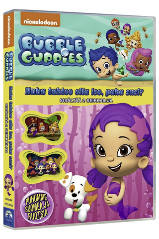 Dvd Bubble Guppies 1/6