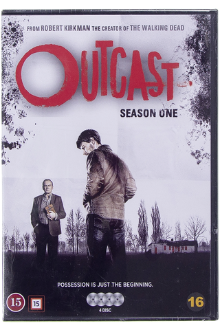 Dvd outcast kausi 1