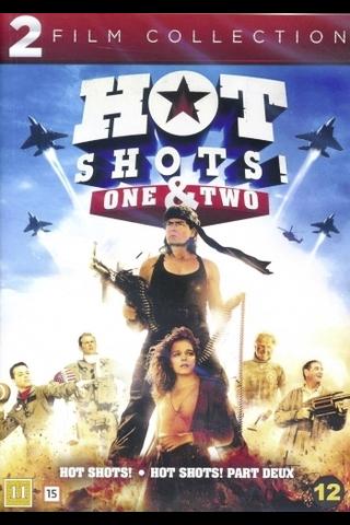 Dvd Hot Shots 1-2 Box