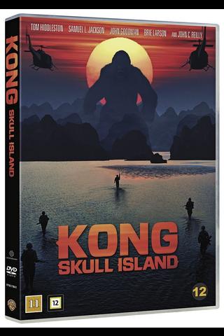 Dvd Kong Pääkallosaari