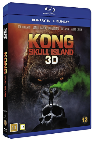3D Kong Pääkallosaari