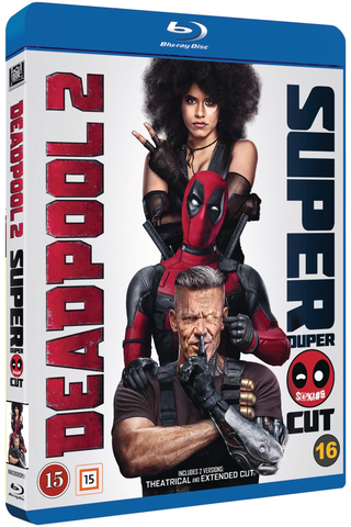 Blu-ray Deadpool 2 - Super Duper Cut
