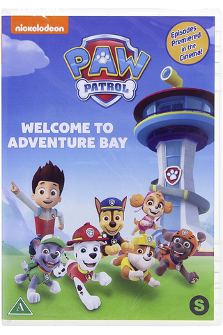 Dvd Paw Patrol Welcome T