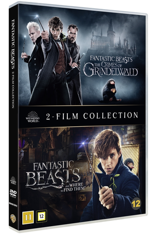 Dvd Fantastic Beasts 1-2