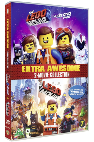 Dvd Lego Movie 1+2