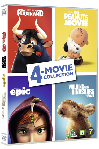 Dvd 4-Movie Collection